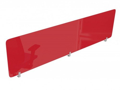 Acrylic Desk Mounted Straight Top