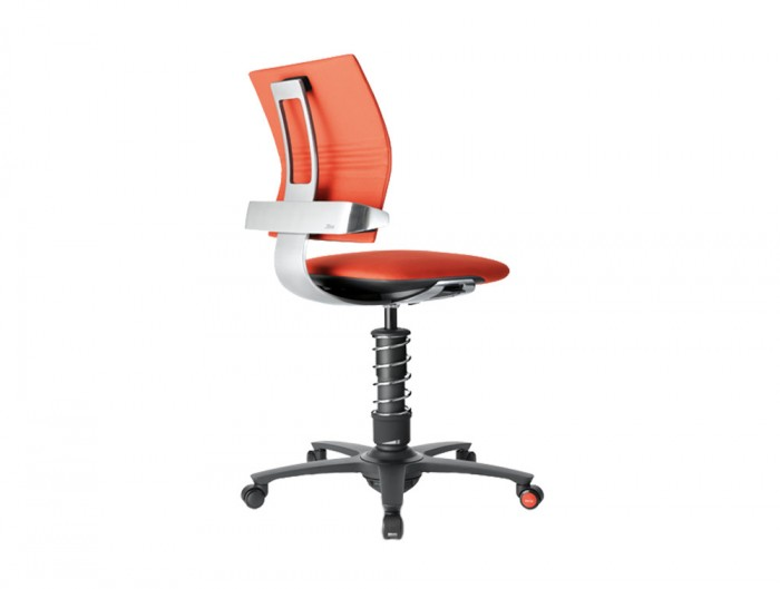 Aeris-3Dee-Active-Office-Chair-with-Red-Seat-Chrome-Finish-and-Black-Base