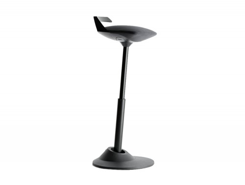 Aeris-Muvman-Active-Factory-Sit-Stand-Stool-with-Black-Base-and-Black-Seat