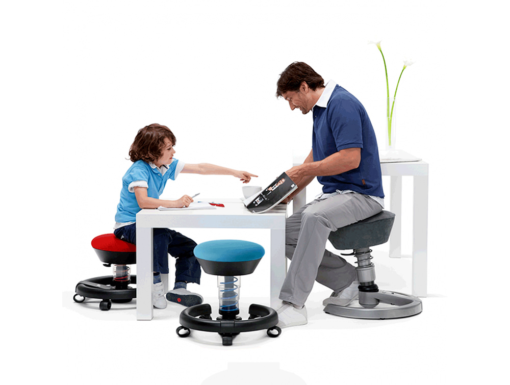 Aeris-Swoppster-Small-Ergonomic-Chair-with-Castor-Wheels-Available-in-Red-and-Blue