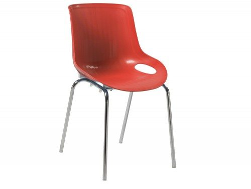 Americano Stackable Chair in Red