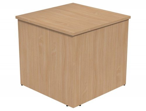 Ashford Modular Reception 90 Degree Corner Desk BE in Beech