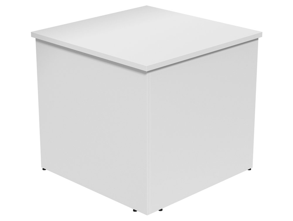 Ashford Modular Reception 90 Degree Corner Desk WH in White