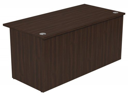 Ashford Modular Reception Desk 1600-DW in Dark Walnut
