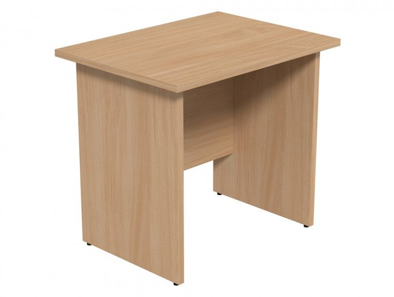 Ashford Budget Panel Leg Return Desk BE in Beech