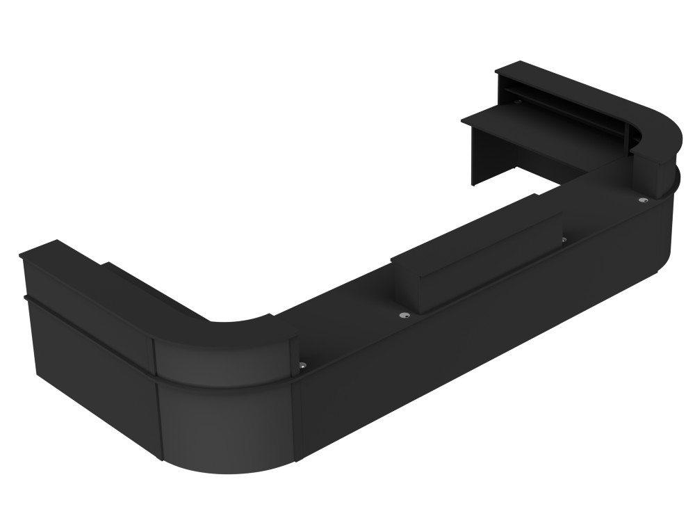 Ashford Reception Configuration 5 in Black and Black