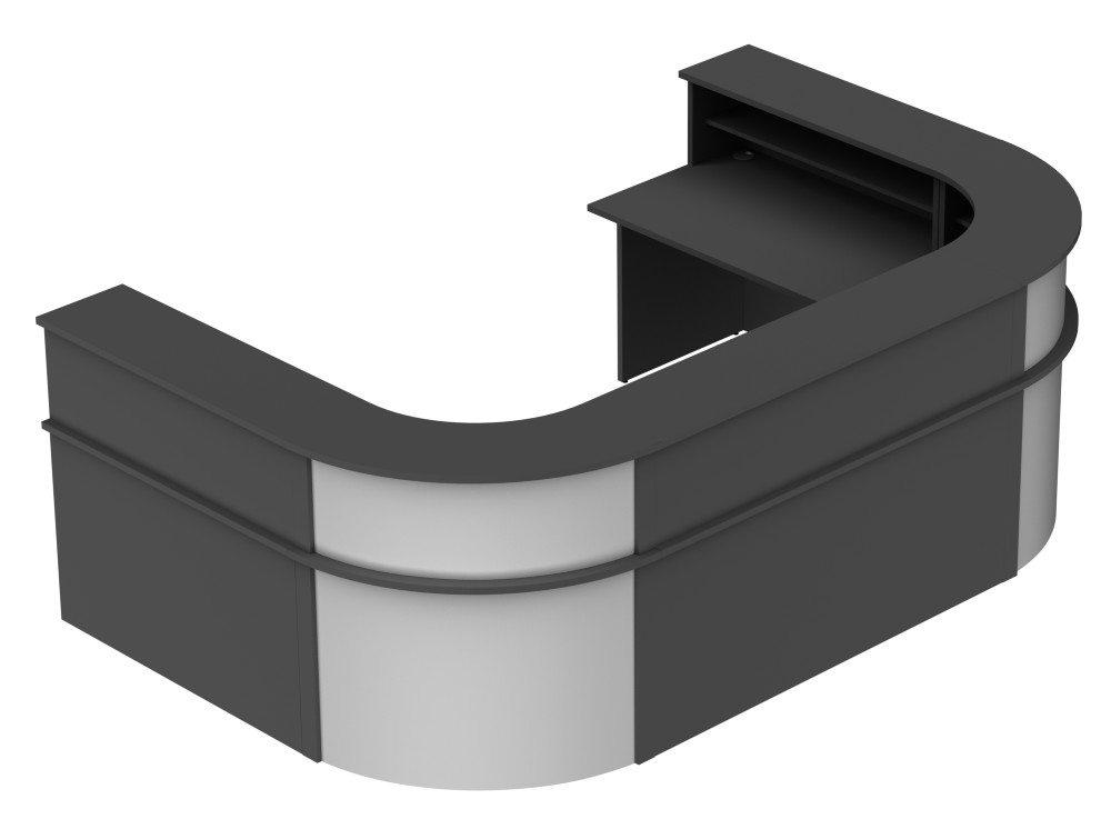Ashford Reception Configuration 6 in Graphite and Silver