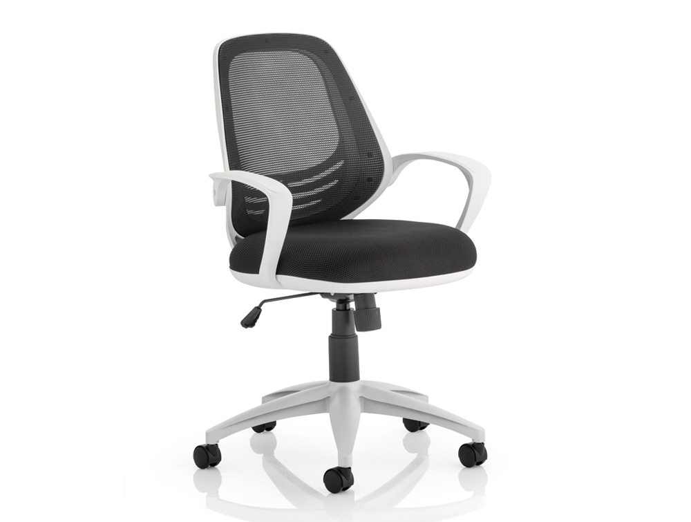 Dynamo Atom Task Operator Chair With Arms In Black