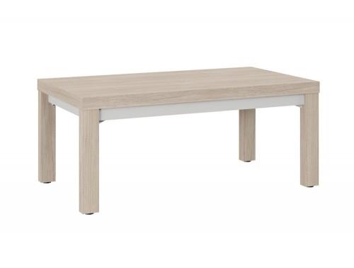 Auttica Executive 4-Legged Wooden Meeting Room Table Madrid Oak Grey
