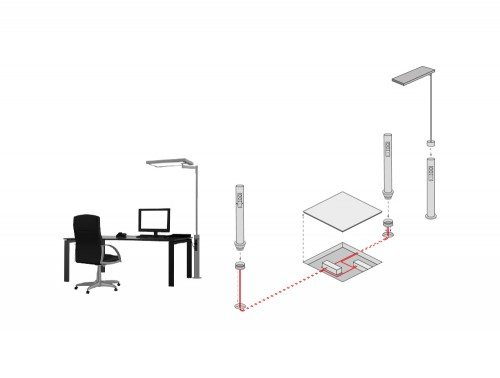 Meeting Room And Conference Table Accessories Vertical