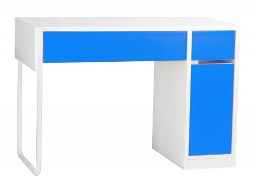 BDW-H101-BL Spectrum Home Office Workstation with Storage in Blue