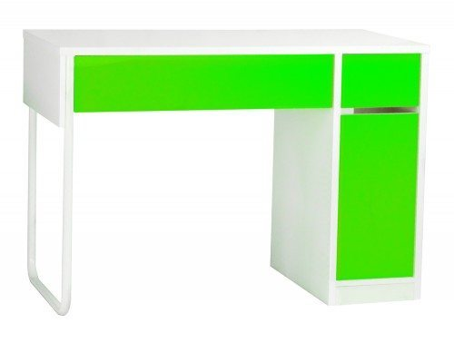 BDW-H101-GN Spectrum Home Office Workstation with Storage in Green
