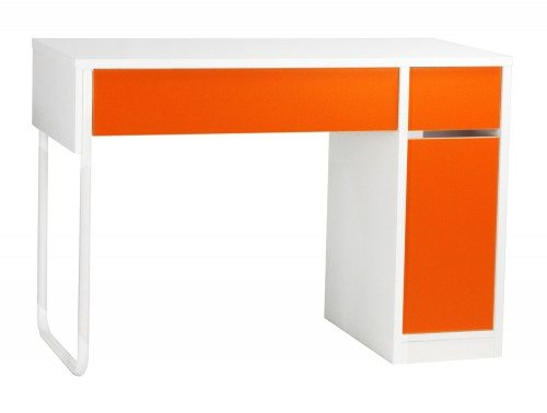 BDW-H101-OG Spectrum Home Office Workstation with Storage in Orange