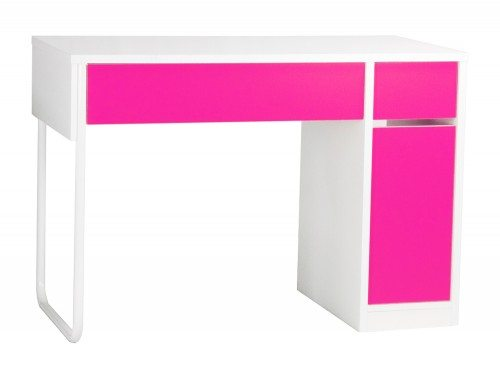 BDW-H101-PI Spectrum Home Office Workstation with Storage in Pink