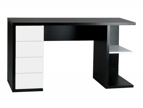 BDW-H105-BWH-L Hobart Home Office Workstation with Storage 1500mm Width