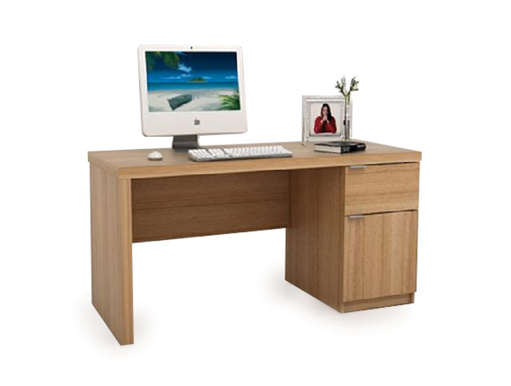 BDW-P102-TK Jonus Computer Workstation in Teak