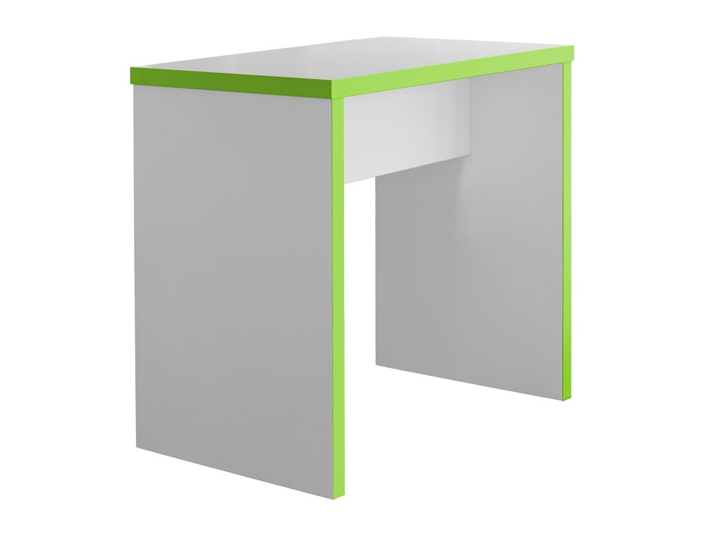 Block Green and white Colour Posuer Canteen Table