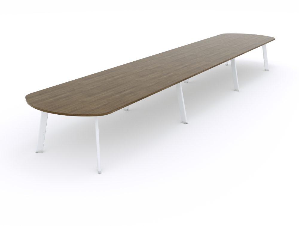 Balma Simplic Modular Meeting Table with Metal Base