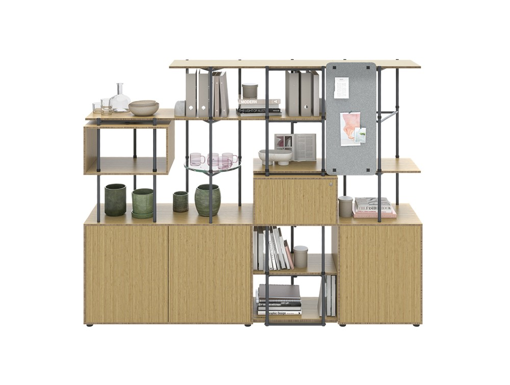 Bamboo Shelving and Storage