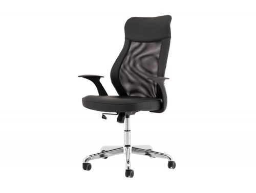 Baye-Mesh-and-Leather-Operator-Chair