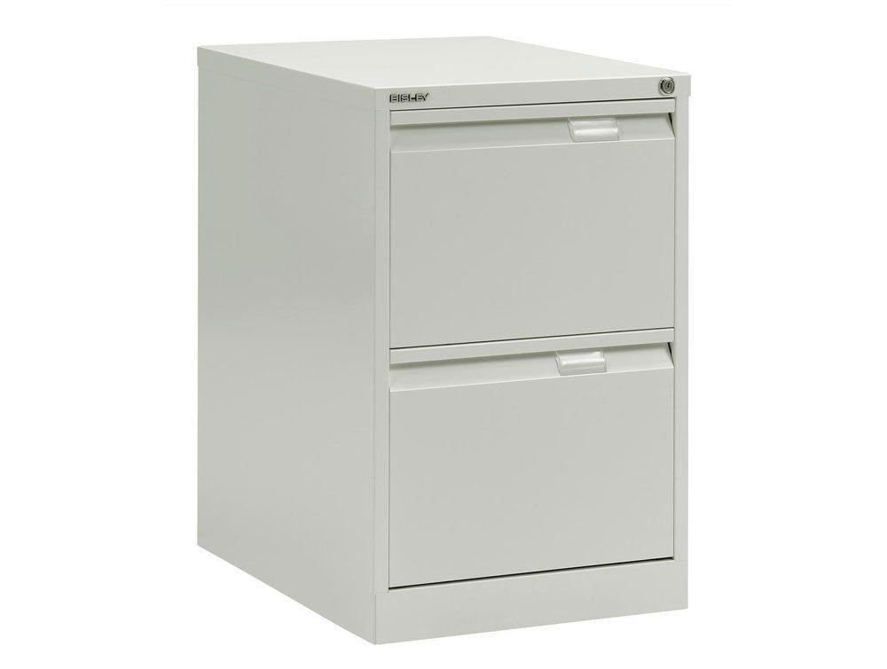 Bisley Bs2e Filing Cabinet 2 Drawer