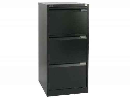 Bisley BS3E Filing Cabinet 3 Drawer