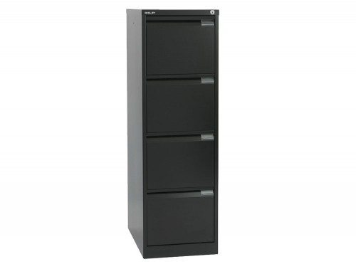 Bisley BS4E Filing Cabinet 4 Drawer