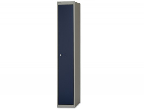Bisley CLK Locker with 1 Door in Blue and Grey