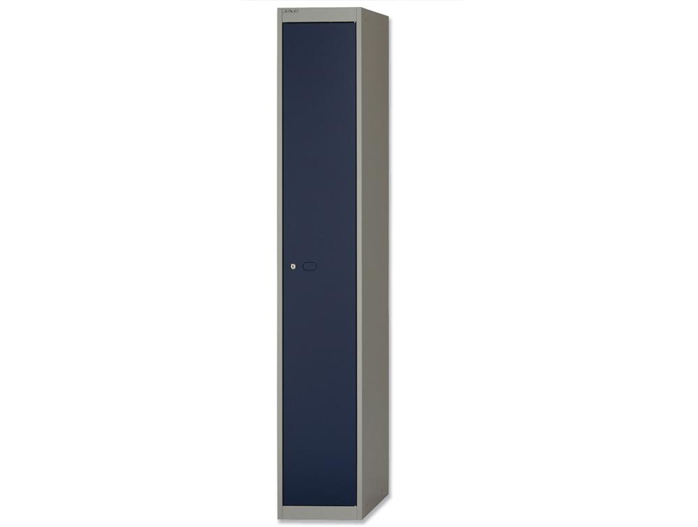 Bisley CLK Locker with 1 Door in Blue and Grey