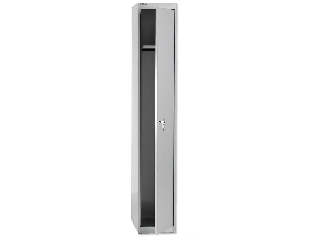 Bisley CLK Steel Locker 1 Door in Grey Colour