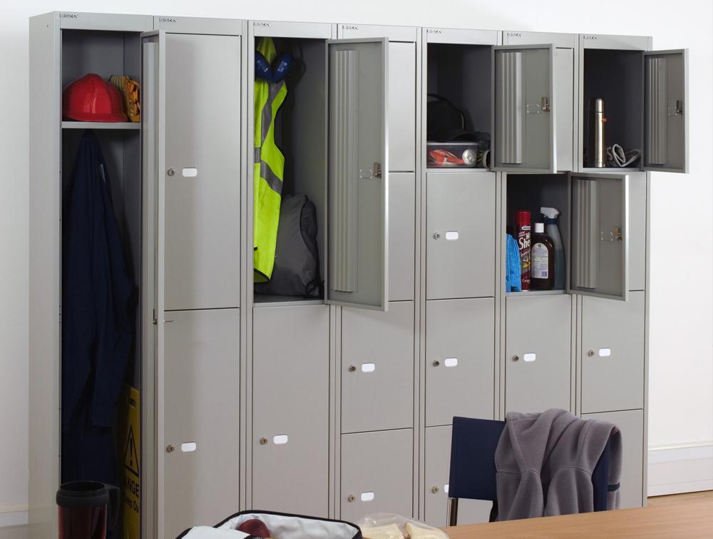 Bisley CLK Steel Lockers in Dressing Rooms