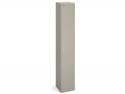 Bisley CLK121g-305mm Grey 1 Door Locker