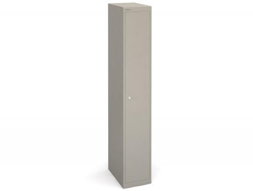Bisley CLK181g-450mm Grey 1 Door Locker