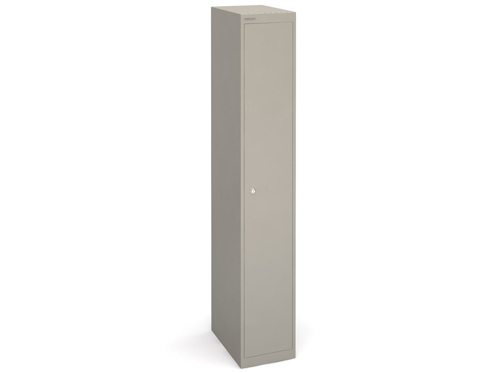 Bisley CLK Deep Metal Locker - Grey Finish - 1-Door