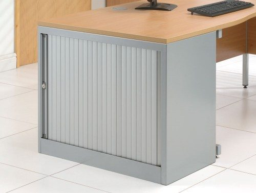 Bisley EuroTambour Desk-high Side-opening with 1 shelf 720mm high
