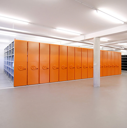 Bisley InnerSpace Mobile Storage System for Libraries