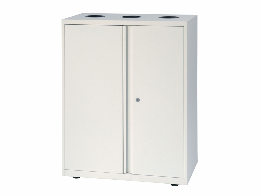 Bisley LateralFile Top-Access Recycling Unit in White