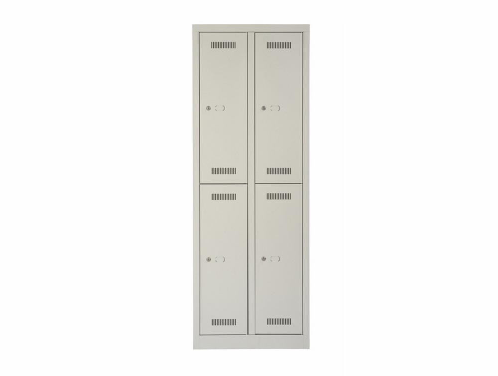 Bisley Monobloc Double Column 4 Door Front