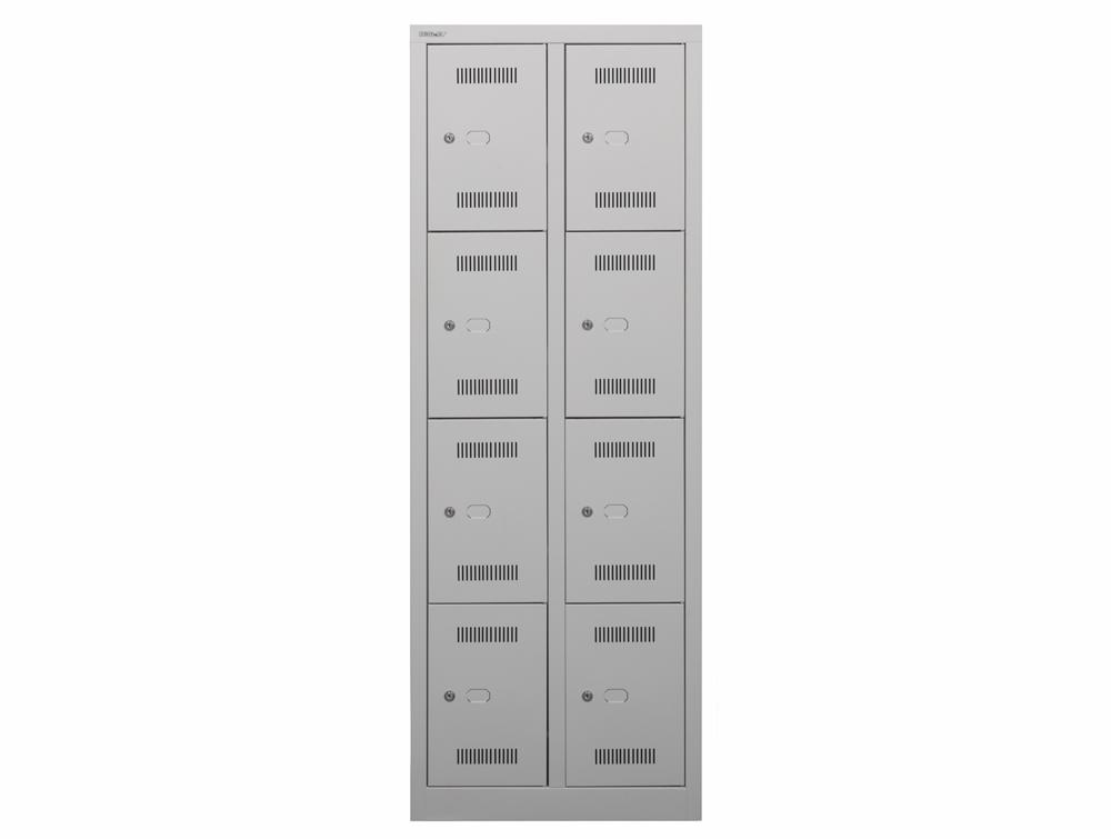 Bisley Monobloc Double Column 8 Door Front