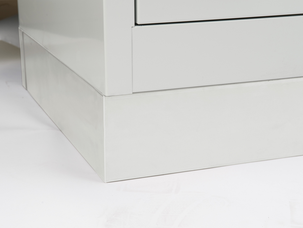 Bisley Monobloc Locker Bottom Metal Plinth