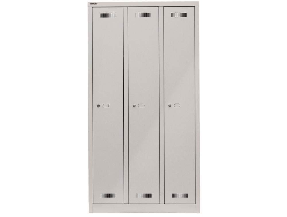 Bisley Monobloc Triple Column 3 Doors Front