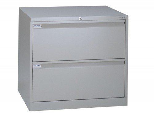 Bisley Side Filing Cabinet 2-Drawer