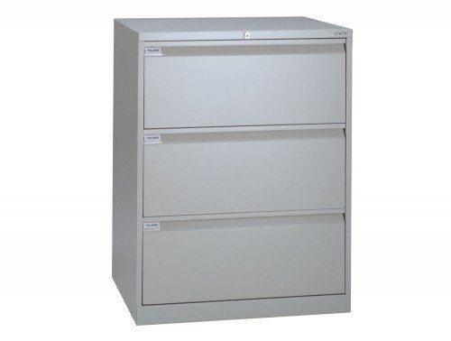 Bisley Side Filing Cabinet 3-Drawer