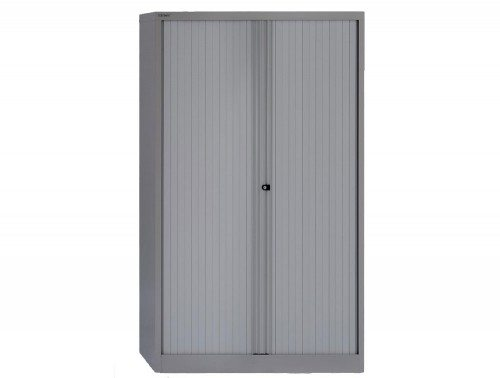 Bisley Tambour Steel Cupboard 1651mm high