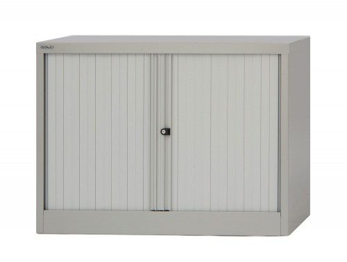 Bisley Tambour Steel Cupboard 711mm high