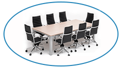 Boardroom table chairs