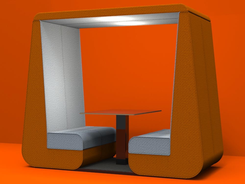 Bob Roofed Meeting Solutions Den in Orange