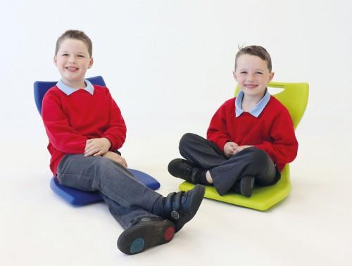 Bob Self Balancing Trendy Stackable Floor Chair for Children in School