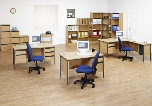 Budget Office Furniture Suite with Desks and Task Chairs