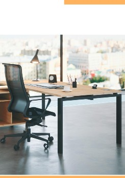 Buronomic Astro Executive Sober Desk